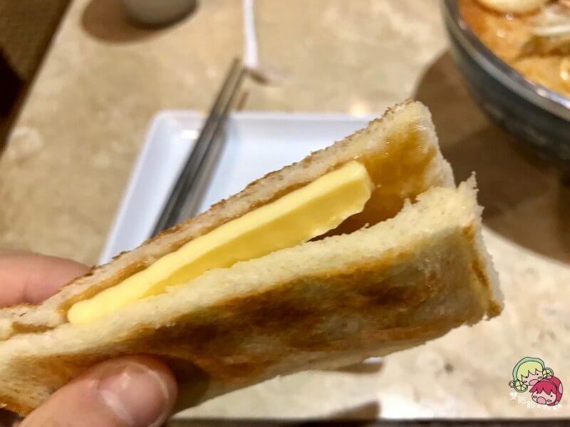 板橋大遠百土司工坊傳統傳統咖椰土司套餐
