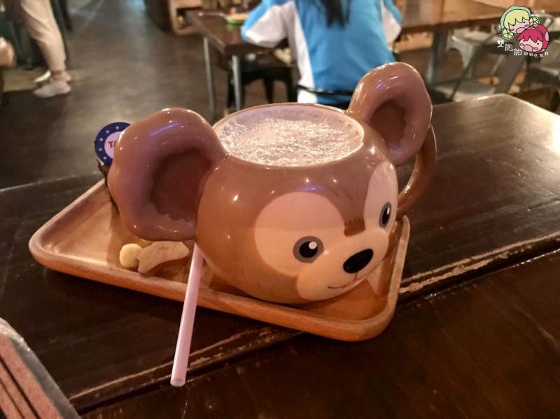 【松江南京】TankQ Cafe & Bar,迪士尼娃娃及漫威迷的天堂!超大份量早午餐(內附菜單)-焦糖鮮奶茶 $168
