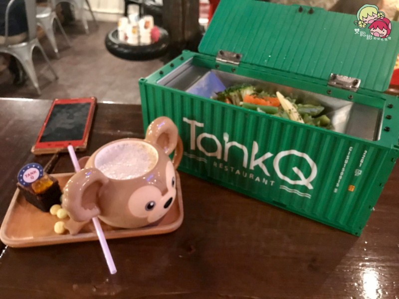 【松江南京】TankQ Cafe & Bar,迪士尼娃娃及漫威迷的天堂!超大份量早午餐(內附菜單)-青醬義大利麵 $288
